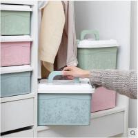 家用多功能药品收纳箱塑料整理箱药品收纳盒儿童药箱