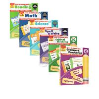 【中商原版】Skill Sharpeners技能铅笔刀系列学前级5册英文原版Grade PreK