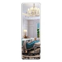 全身镜穿衣镜壁挂粘贴简约整块无框镜寝室试衣镜宿舍贴墙镜子挂墙 其他