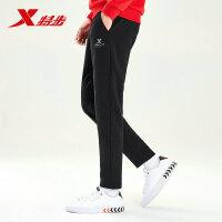 特步运动裤男秋季新款宽松直筒男士针织长裤休闲裤子男881329639236