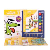 逻辑狗幼儿早教材网络版家庭第一阶段3-4岁全套思维训练儿童玩具