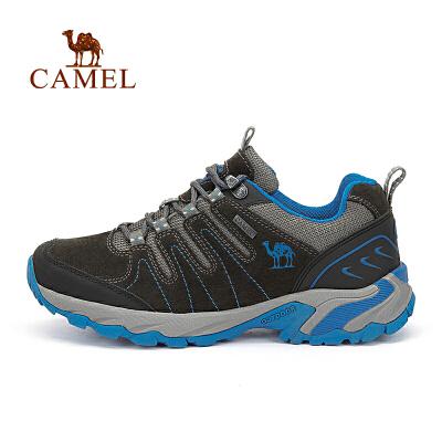 camel骆驼户外徒步鞋 男女情侣款反绒皮徒步鞋官方正品,七天无理由退换货,59元起包邮
