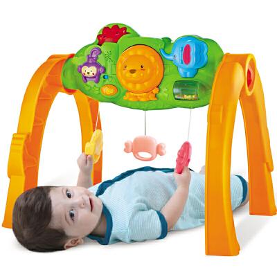 婴儿森林健身架宝宝带音乐儿童多功能玩具0-1岁