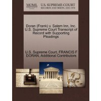 Doran (Frank) v. Salem Inn, Inc. U.S. Supreme Court Tran***