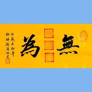 中国佛教协会副会长,中国佛教协会西藏分会第十一届理事会会长十三届全国政协委员班禅额尔德尼确吉杰布(无为