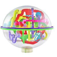 爱可优 3D立体迷宫球幻智力球挑战智力 儿童益智玩具球 创意玩具 208关937A