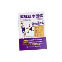 现货篮球战术图解组织打法篇篮球基础入门技巧技术战术图解书籍篮球高手教学书看图学篮球技术战术书篮球技术战术训练书籍