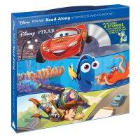 【现货】英文原版 迪士尼皮克斯4册朗读书+CD套装 Disney-Pixar Read-Along Storybook