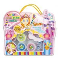 卡乐淘梦幻公主套装儿童diy超轻粘土3d彩泥橡皮泥玩具无毒送儿童礼品 幼儿园diy产品哦