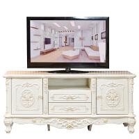 欧式电视机柜简约现代小户型迷你客厅实木卧室地柜高美式家具套装 2166 长160宽48高71 组装