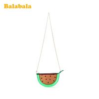 巴拉巴拉女童包包斜挎包公主时尚包可爱潮小孩儿童韩版水果链条包