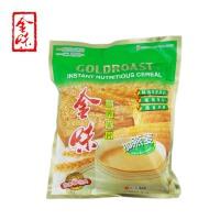 新加坡味驰集团 金味麦片(加燕麦味)600g 袋装 营养燕麦片早餐 即食冲饮 冲调麦片