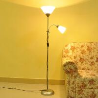 护眼落地灯落地灯客厅卧室简约LED现代装饰书房多功能子母立式台灯