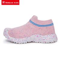 【限时抢购价:118元】探路者儿童健走鞋 19春夏户外童装通款透气儿童健走鞋QFOH85101