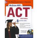 【预订】McGraw-Hill's ACT , 2013 Edition [With CDROM]