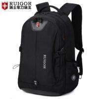 瑞士军士刀瑞戈双肩包女大容量初中学生书包电脑包男瑞士旅行背包
