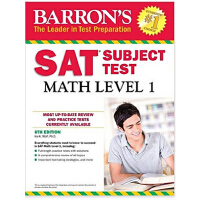 Barron's SAT Subject Test: Math Level 1, 6th Edition 9781438007908