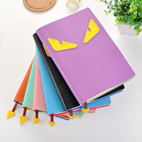 小怪兽创意礼品记事本办公用品学生个性笔记本文具随身日记本