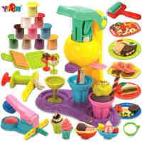 儿童3D彩泥套装模具工具粘土手工DIY橡皮泥儿童玩具礼物