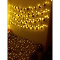 圣诞节小彩灯寝室房间装饰闪灯串灯浪漫卧室led满天星星星网红灯