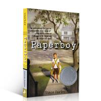 英文原版 Paperboy 送报男孩 报童 纽伯瑞文学奖银奖 少年小说 儿童文学 进口正版