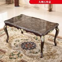 欧式餐桌法式大理石长方形餐桌6人饭桌组合餐厅家具