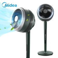 美的(Midea)空气循环扇GDE24DG 电风扇落地扇家用立式轻音低噪 变频遥控扇宿舍摇头空气循环扇电扇大风力