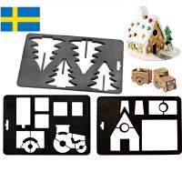 【当当海外购】瑞典进口Orthex姜饼屋3D模具烘焙DIY巧克力(安徒生城堡+挪威的森林+沃尔沃卡车)3件套装