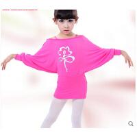 女童连衣裙芭蕾跳舞衣中国舞拉丁服 幼儿童舞蹈服装春秋长袖练功服