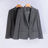 贝贝春秋新款一粒扣正版西装女装修身显瘦工装西服大码外套