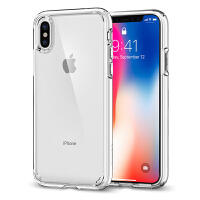 Spigen新款苹果X手机壳防摔透明保护套iPhone X全包硅胶软壳潮牌