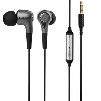 EDIFIER漫步者 H230P手机耳机入耳式线控带麦耳机黑色
