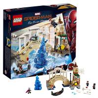 【当当自营】乐高LEGO 超级英雄系列 76129 水人攻击 蜘蛛侠:英雄远征电影款