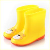 新款儿童雨鞋宝宝水鞋学生卡通雨靴幼儿园踩水鞋户外防水鞋雨靴潮