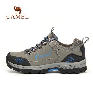 【每满200减100】camel骆驼户外情侣款徒步鞋 男女防滑减震户外鞋
