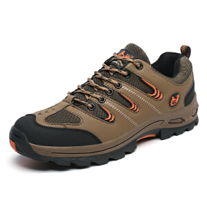 秋冬季新款登山鞋男鞋户外鞋防滑防水高帮保暖徒步鞋女运动鞋