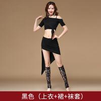 肚皮舞裙子套装时尚新款秋装 肚皮舞练功服东方舞服装演出服
