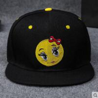 嘻哈平沿帽 女网红同款时尚休闲遮阳棒球帽 男士韩版潮运动街舞鸭舌帽 女户外运动新品