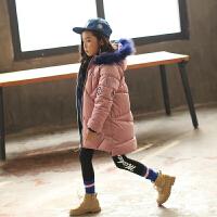 童装女童棉衣外套2017新款韩版季棉袄中长款金丝绒儿童羽绒