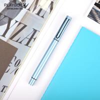 花花公子(PLAYBOY) 点墨42系列中性笔 宝珠笔签字笔 学生男女士书写练字商务办公礼盒 团购定制 免费刻字