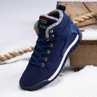 2017棉鞋男鞋冬季新款韩版潮高帮加绒加厚保暖耐磨防滑男士雪地靴