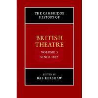 【预订】The Cambridge History of British Theatre 9780521651325