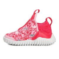 【到手价:184.5元】阿迪达斯(adidas)童鞋男女童新款儿童海马训练鞋一脚蹬运动鞋D96841 迷彩粉