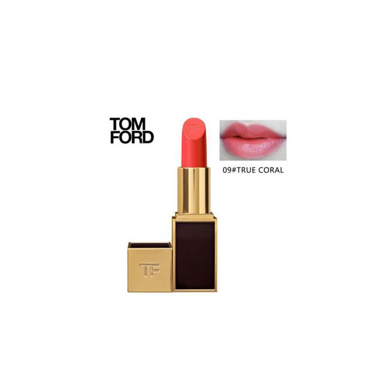 Tom Ford汤姆福特TF 黑金黑管唇膏口红3g 09#TRUE CORAL 夏季护肤 防晒补水保湿 可支持礼品卡