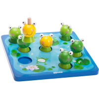 钓青蛙游戏 木制儿童玩具亲子