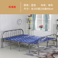 折叠床单人床双人床办公室午睡午休折叠床陪护床家用木板床简易床