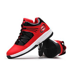 篮球鞋男高帮耐磨战靴防滑蓝球鞋低帮透气学生运动鞋