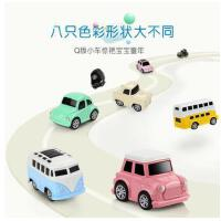 儿童玩具车男孩4岁迷你小车合金模型回力车惯性小汽车宝宝套装
