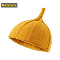 【3件4折:15.6】巴拉巴拉女童帽子冬季新款可�垌n版����保暖�和���毛�帽尖尖帽