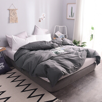 君别纯色被套 单件素色被罩床单加大双人200X230